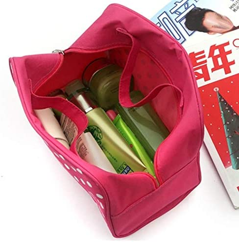 YouNITE 女性コスメティックバッグ豪華なデザイナービッグ容量美容師トラベルオーガナイザー多機能ビーチバッグ化粧バッグトイレのバッグ (Color : Black)