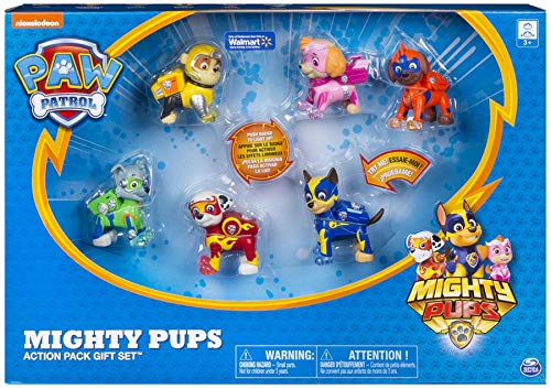 Amazon Paw Patrol Mighty Pups Action Pack Gift Set Toys Games