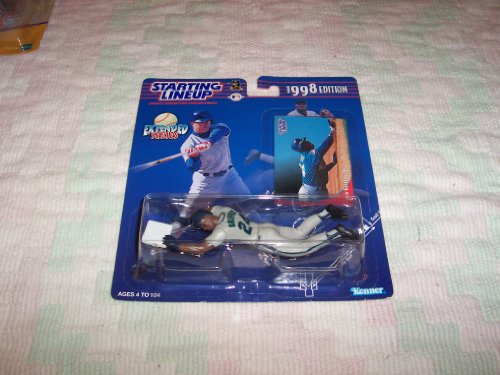 - 1998 MLB Starting Lineup Extended Series - Ken Griffey, Jr. - Seattle Mariners