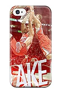 Specialdiy Cute Tpu DanRobertse Los Angeles Clippers Basketball Nba qSVp7OVb2E0 case cover For Iphone 4/4s