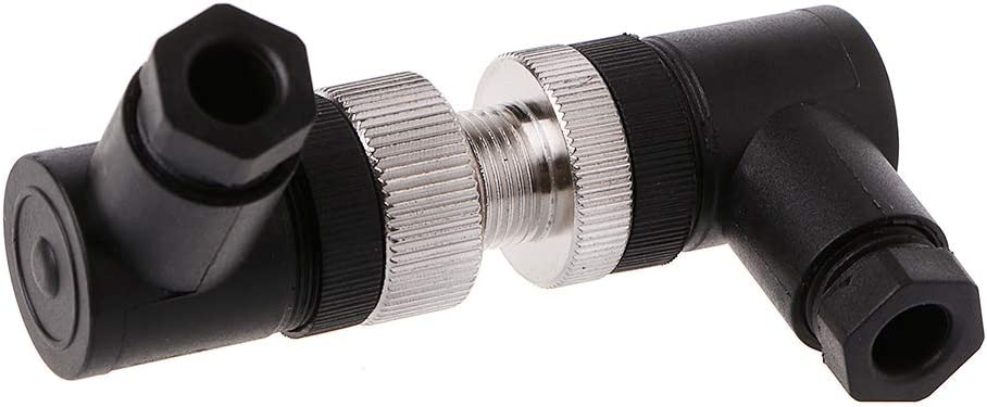 Enchufe con Sensor IP67 4//5//8 Pines Macho//Hembra Recto//Rectangular Conector M12 siwetg PG7