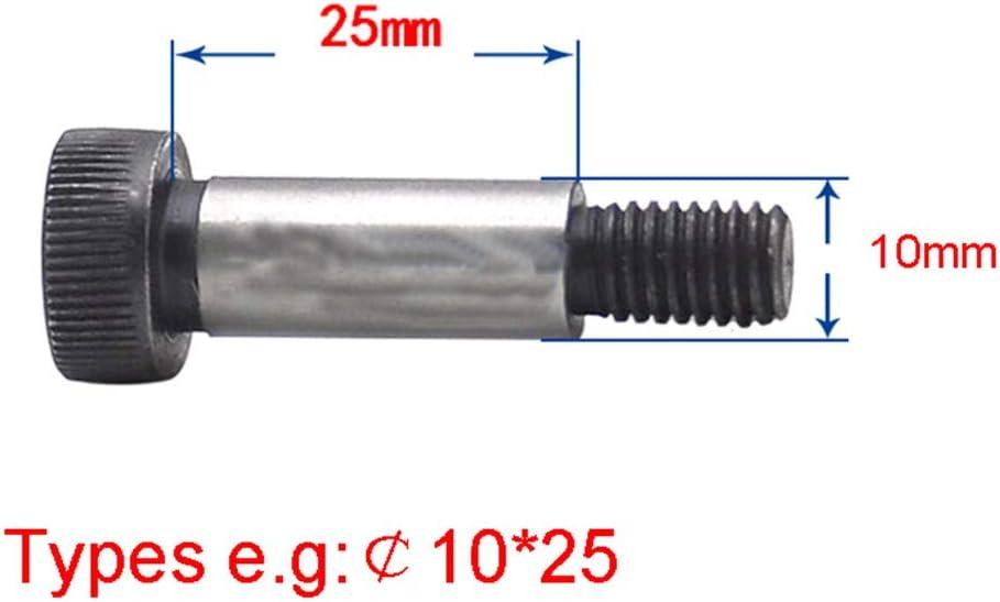 Grade12.9 Alloy Steel High Axis Shoulder Bolts Hexagon Socket Allen Key Screw 65mm M20