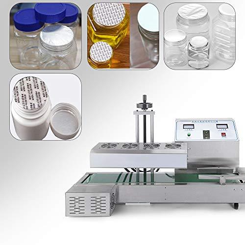 Sumeve Continuous Induction Sealer Automatic Induction Bottle Sealing Machine Bottle Cap Sealer For Cap Diameter 20mm - 80mm 110V 220V (110V) by Sumeve (Image #6)