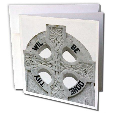 Mayo Cross - 3dRose Ireland, County Mayo, Murrisk, Celtic Cross Greeting Cards, 6