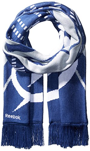 Reebok NHL Toronto Maple Leafs SP17 Arrow Knit Jacquard Scarf, Gray, One Size ()