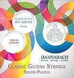 Hannabach 600 MT Silver-Plated, Medium Tension