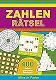 Zahlenrätsel: 400 Seiten spannender Rätselspaß - Alles in Farbe