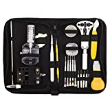 Readaeer 158 Pcs Portable Watch Repair Tools Kit Set Back Case Opener Remover