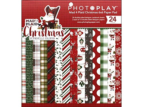 Photoplay Paper Photo Play M4P Christmas Paper Pad (Christmas Paper)