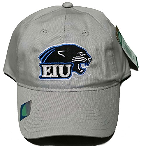 NEW! Eastern Illinois University Panthers Snap Back Hat Embroidered Cap - Silver