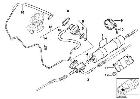 Amazon Com Bmw 13 32 1 407 299 Fuel Filter Automotive