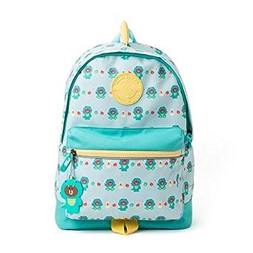 798221644c LINE FRIENDS Character DINO BROWN Kids Backpack Trolley