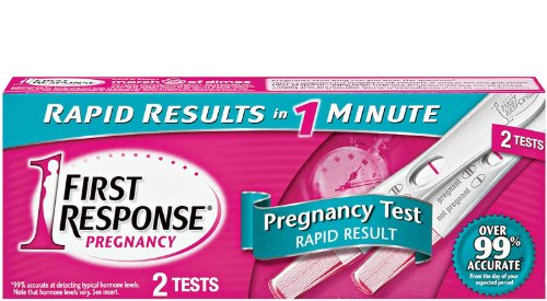 First Response Rapid Result Pregnancy Test, 2CT (Pack of 12) by First Response