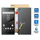 Sony Xperia Z5 Premium Screen protector, KuGi ® Ultra-thin 9H Hardness High Quality HD clear Premium Tempered Glass Screen Protector for Sony Xperia Z5 Premium smartphone. (Front and Back)