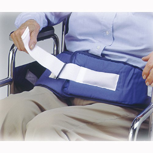(Skil-Care's Resident Release Soft Wheelchair Belt - Side-Release Buckle 301270)