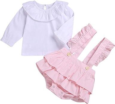 Camisa de Manga Larga Linda de Las Muchachas de los niños ...