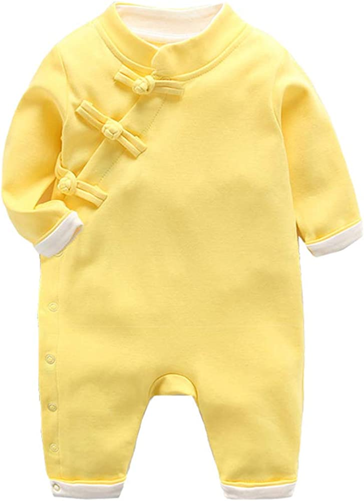 Mud Kingdom Baby Boys Girls Jumpsuit Traditional Chinese New Year