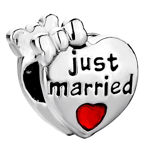 CharmsStory Wedding Married Birthstone Bracelets