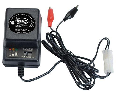Feeders Battery 6 Volt Charger - 6V or 12V Battery Charger