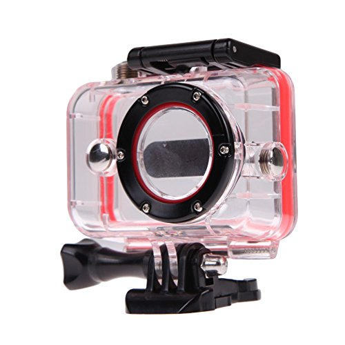 Corprit 40m Diving Waterproof Back Up Underwater Protective Housing Case Cover for Xiaomi Yi Sports Action Camera