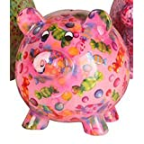 FRENCH DECORATIVE gift idea Giant piggy bank Girly D