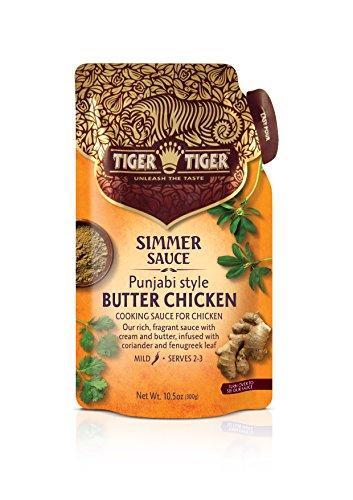 Tiger Tiger Butter Chicken Simmer Sauce, 10.5 Ounce