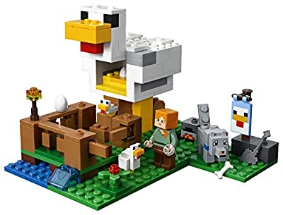 LEGO Minecraft the Chicken Coop 21140 Building Kit (198 Piece) from LEGO