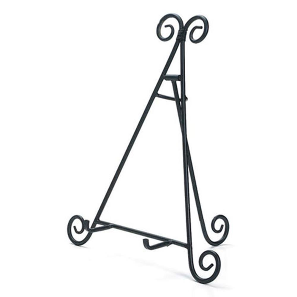 Home Decor 6555-07 Easel Metal Wire Black 22IN
