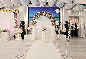 Amazon Com Yeele 5x4ft Wedding Backdrop Arch Flowers Carpet Marriage Ceremony Wedding Party Banner Decoration Photography Background Groom Bridegroom Bridal Portrait Photo Booth Shoot Photocall Studio Props Camera Photo