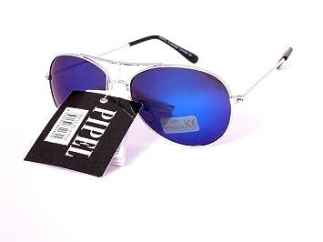 6a65f031cb Pipel lunettes de soleil aviateur enfant garçon fille 3 4 5 ans sgk10109 ( monture argent