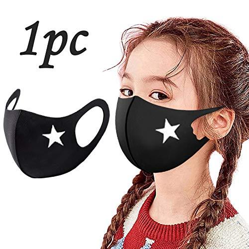 Behelfs- Mund- und Nasen Fashion Unisex, waschbare,Wiederverwendbare und waschbare Bedeckung Mundtuch