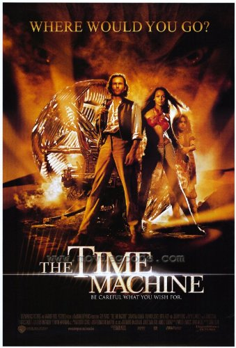 [The Time Machine Movie Poster (27 x 40 Inches - 69cm x 102cm) (2002) Style C -(Guy Pearce)(Samantha Mumba)(Mark Addy)(Sienna Guillory)(Omera Mumba)(Jeremy] (Best Sci Fi Fantasy Costumes)