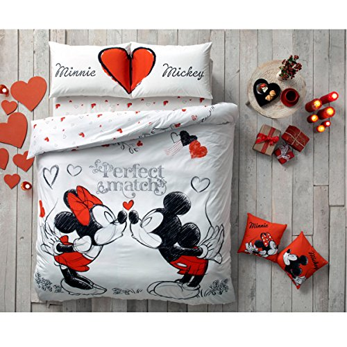 Paris Home 5pcs Minnie Loves Mickey Mouse Perfect Match H...