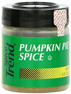 Spice Trend Pumpkin Pie Spice, 0.75-Ounce (Pack of 6)