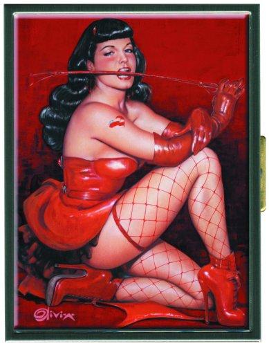 Dark Horse Deluxe Bettie Page: Red Devil Cigarette -