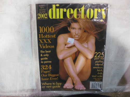 Adam 2002 Directory of Adult Films