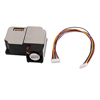 sourcingmap® Sensor de polvo láser módulo detector de polvo ...