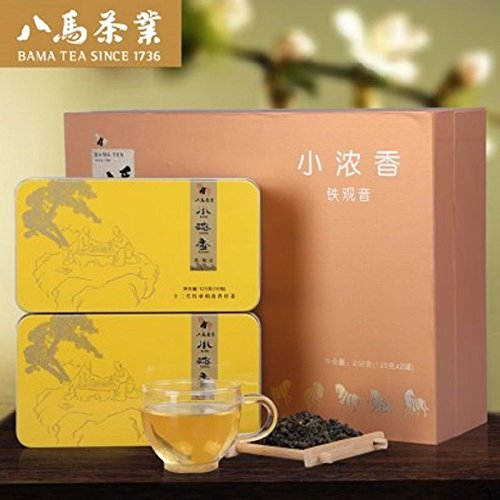125g2 Bama tea Anxi TieGuanYin tea Tikuanyin 3 small fresh 浓香乌龙茶小浓香3号礼盒 by Yichang Yaxian Food LTD.