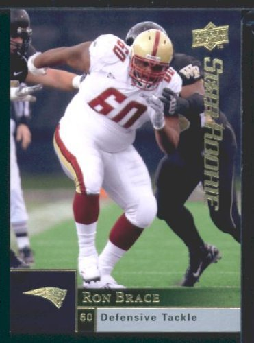Ron Brace RC - Patriots (RC - Rookie Card) 2009 Upper Deck NFL Football Trading Card in Protective Screwdown ()