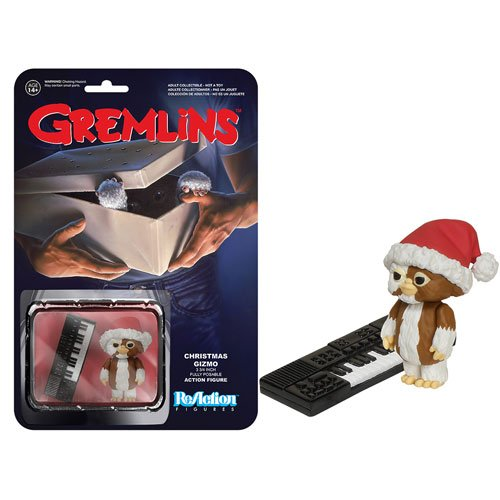 Funko Gremlins Christmas Gizmo ReAction 3 3/4-Inch Retro Action Figure