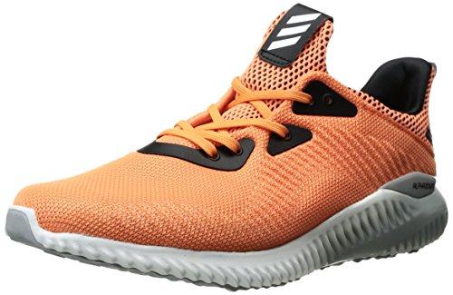 adidas Women's Alphabounce 1 w Running Shoe, Easy Orange/White/Light Onix, 8 M US