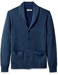 Men's Soft Cotton Shawl Cardigan Sweater