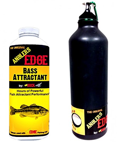 Combo Bait Blocks (Mad Buck Innovations AnglersEdge Liquid Bass Fishing Attractant Combo Pack)