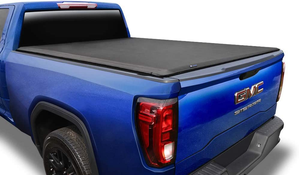 Amazon Com Tyger Auto T1 Soft Roll Up Truck Bed Tonneau Cover For 1988 2007 Chevy Silverado Gmc Sierra 1500 2500 Hd 3500 Hd 2007 Classic Only Fleetside 6 6 Bed Tg Bc1c9009 Black Automotive