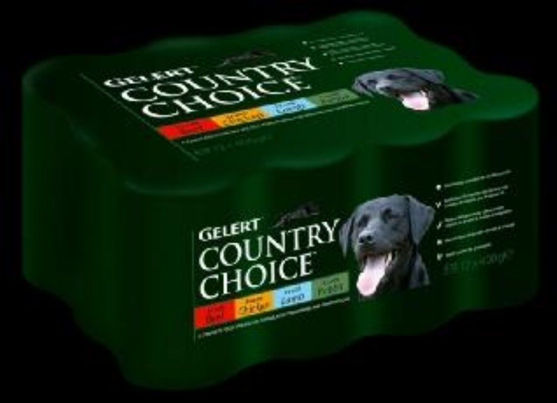 Gelert Country Choice Variety Dog Food 12 x 400g
