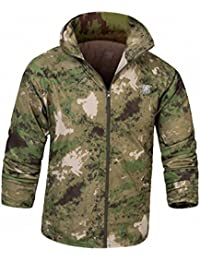 NEW Men Fashion Long Sleeved Bomber Jacket Tactical Military Camouflage Sunscreen Jacket Coat