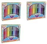 Flair Felt Tip Pens, Medium Point (0.7mm), Assorted Colors, 14 Count