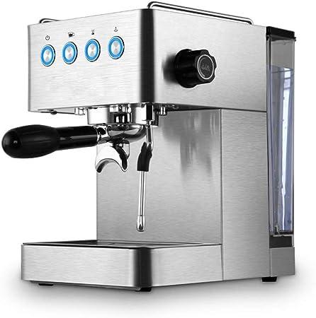 Máquina de café espresso semi-automática Cafeteras italianas Vapor eléctrica Leche vaporizador, 15 bar, boquilla de vapor giratoria: Amazon.es: Hogar
