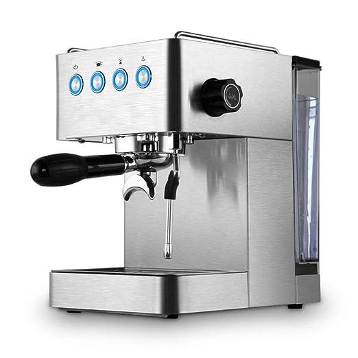 Máquina de café espresso semi-automática Cafeteras italianas Vapor ...