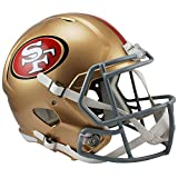 San Francisco 49ers Officially Licensed NFL Speed Full Size Replica Football Helmet